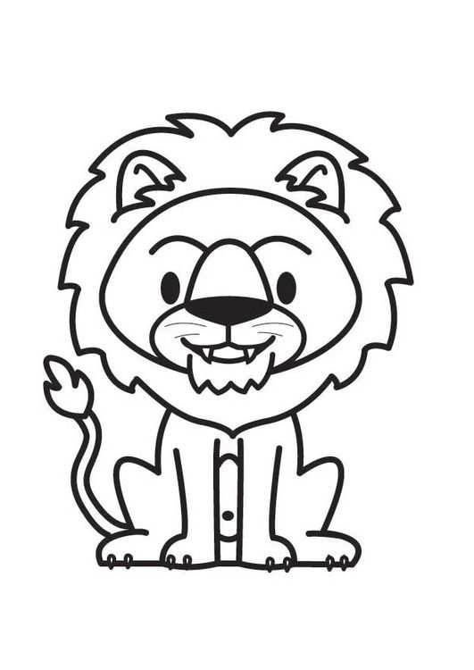 Afbeeldingsresultaat Voor Kleurplaat Leeuw Dieren Kleurplaten