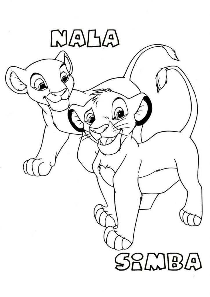 Lion King Coloring Pages Coloring Rocks Tekeningen Disney
