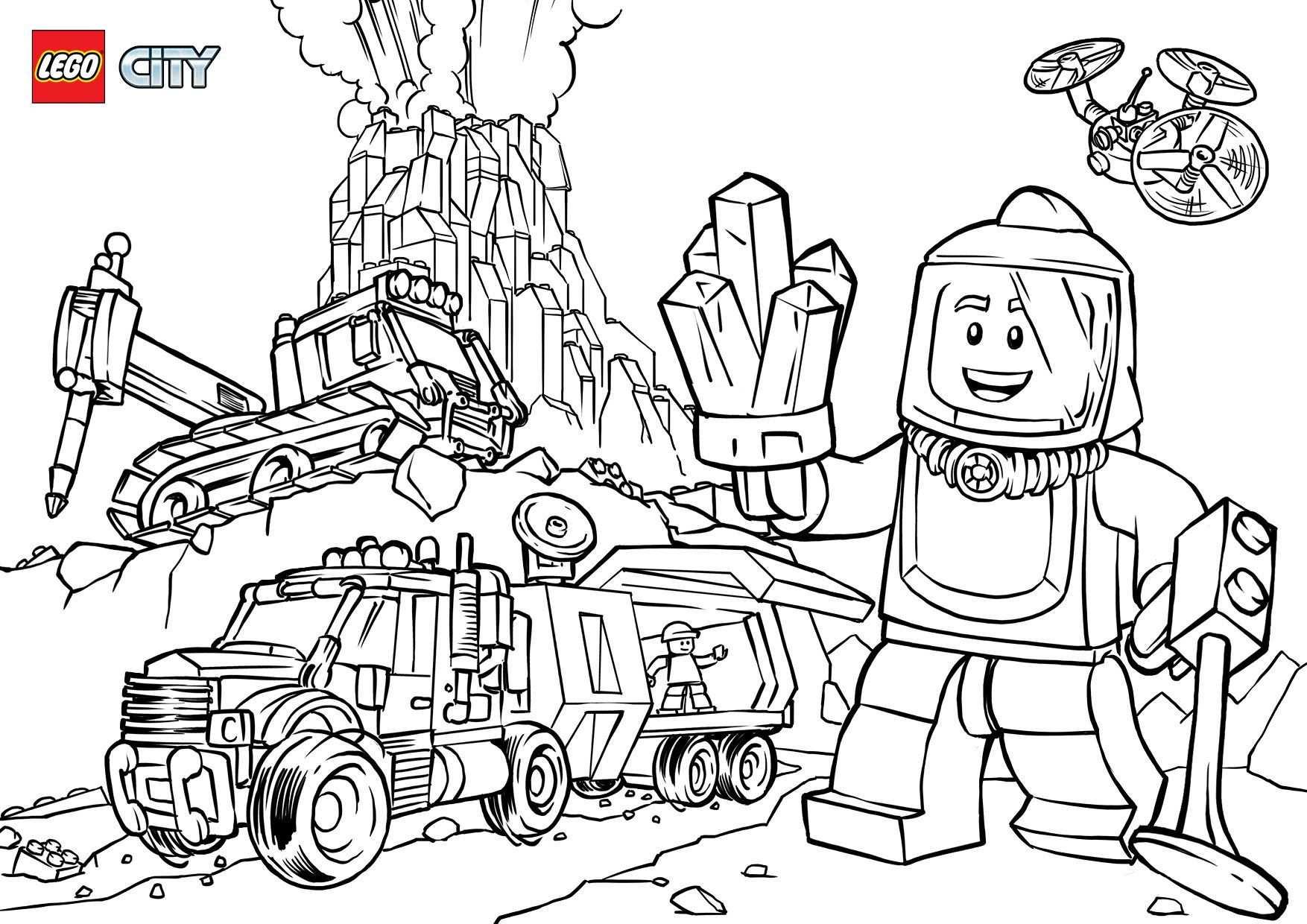 Lego Ausmalbilder City Siehe Die Verschiedenen Lego City