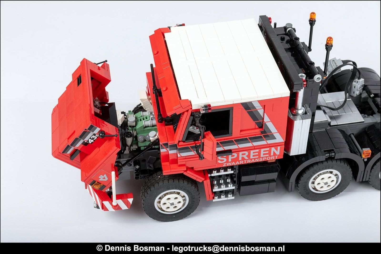 Lego Technic Tatra Kolos 8 8 Lego Vrachtwagens Voertuigen