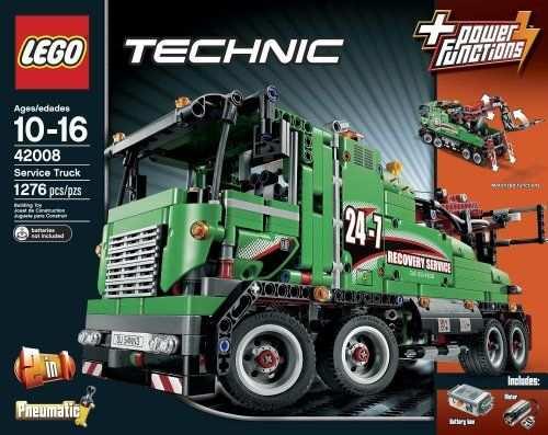 Lego Technic 42008 Service Truck Met Afbeeldingen Lego Ideeen