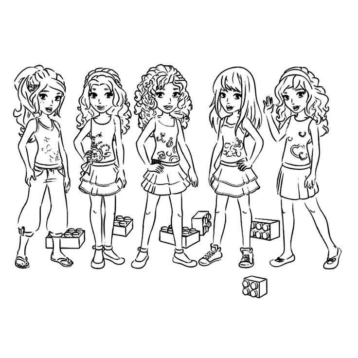 Image Result For Lego Friends Coloring Page Lego Coloring Lego