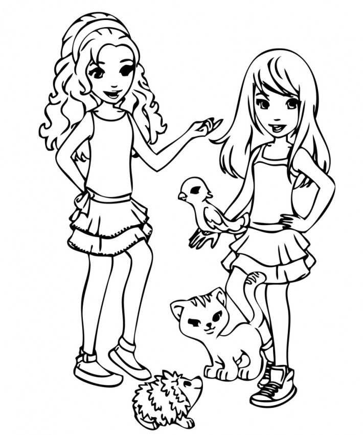 Lego Friends Mia Coloring Pages Lego Coloring Pages Lego