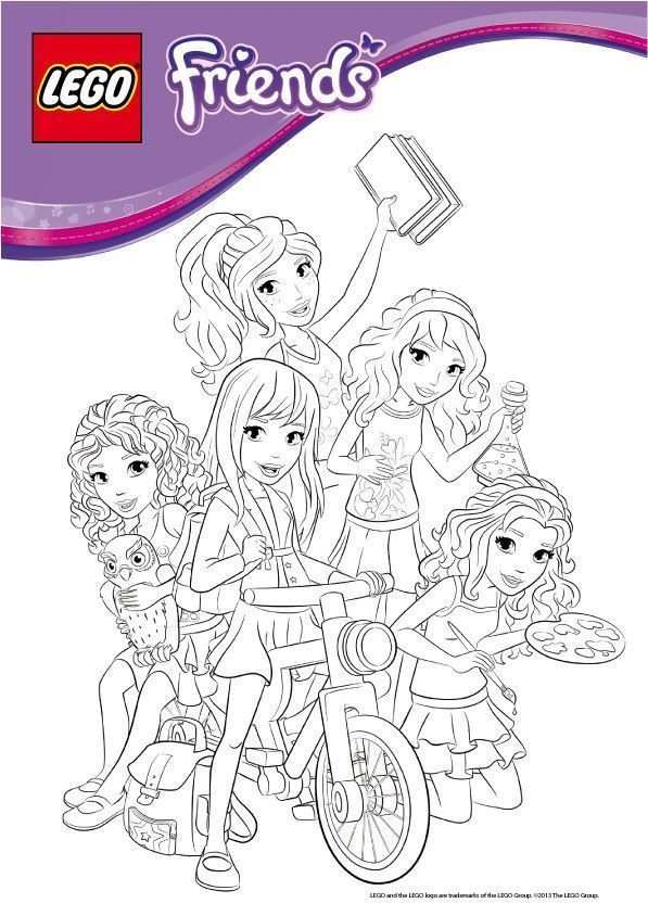 Coloriage Lego Friends A Imprimer Lego Friends Birthday Party