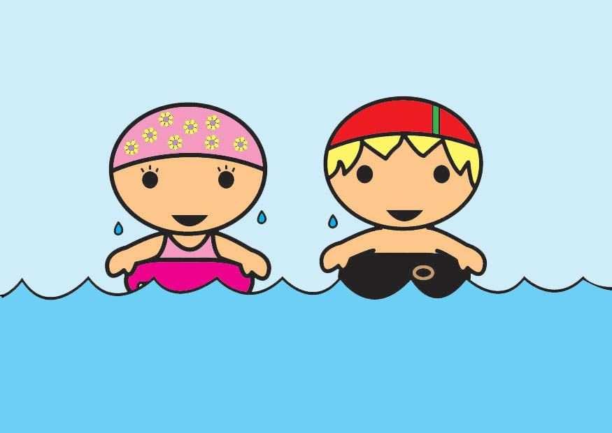 Clipart Zwemmen Afbeeldingen Thema