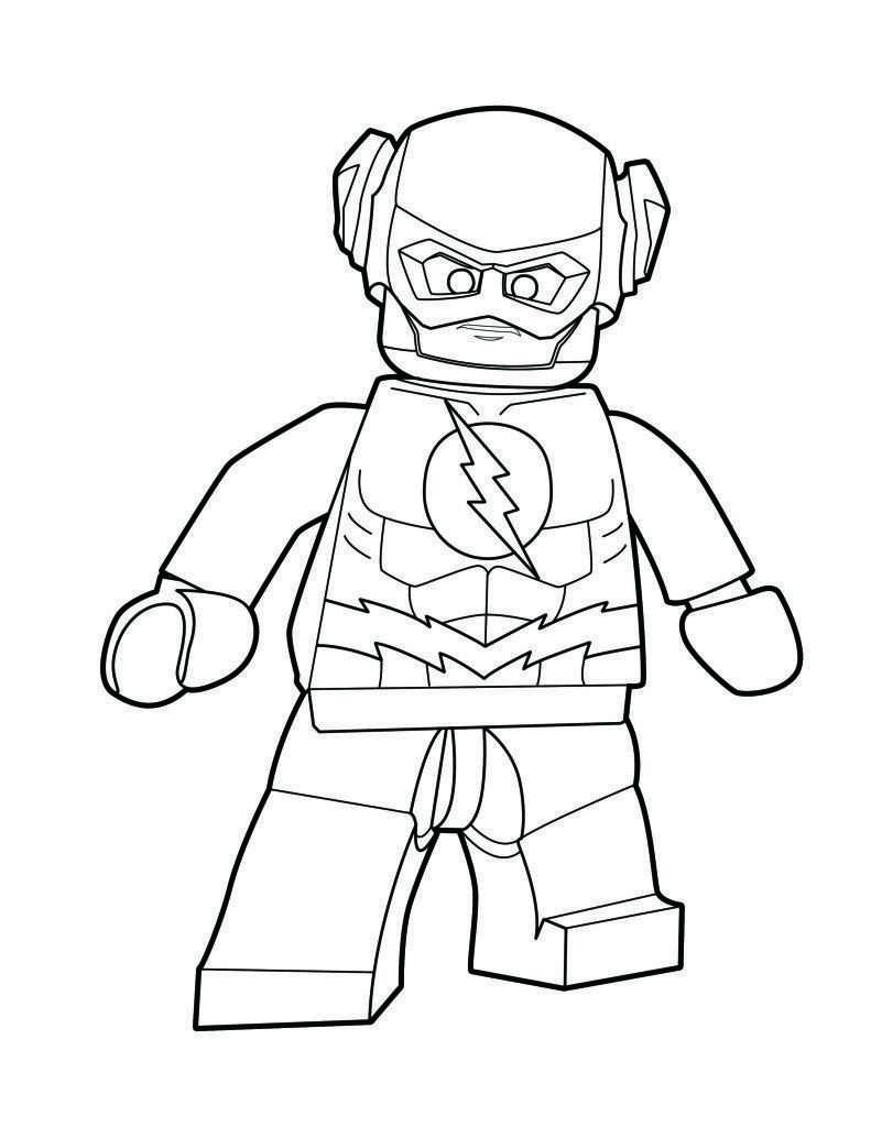 Lego Reverse Flash Color Page Lego Dc Super Villains The Brick