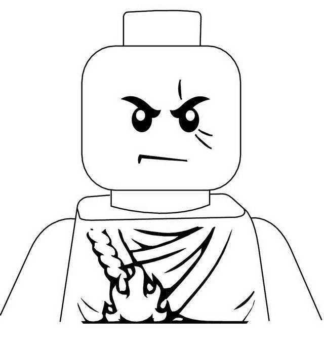 Ninjago Kai Jpg 640 679 Kleurplaten Lego Verjaardagsfeestje