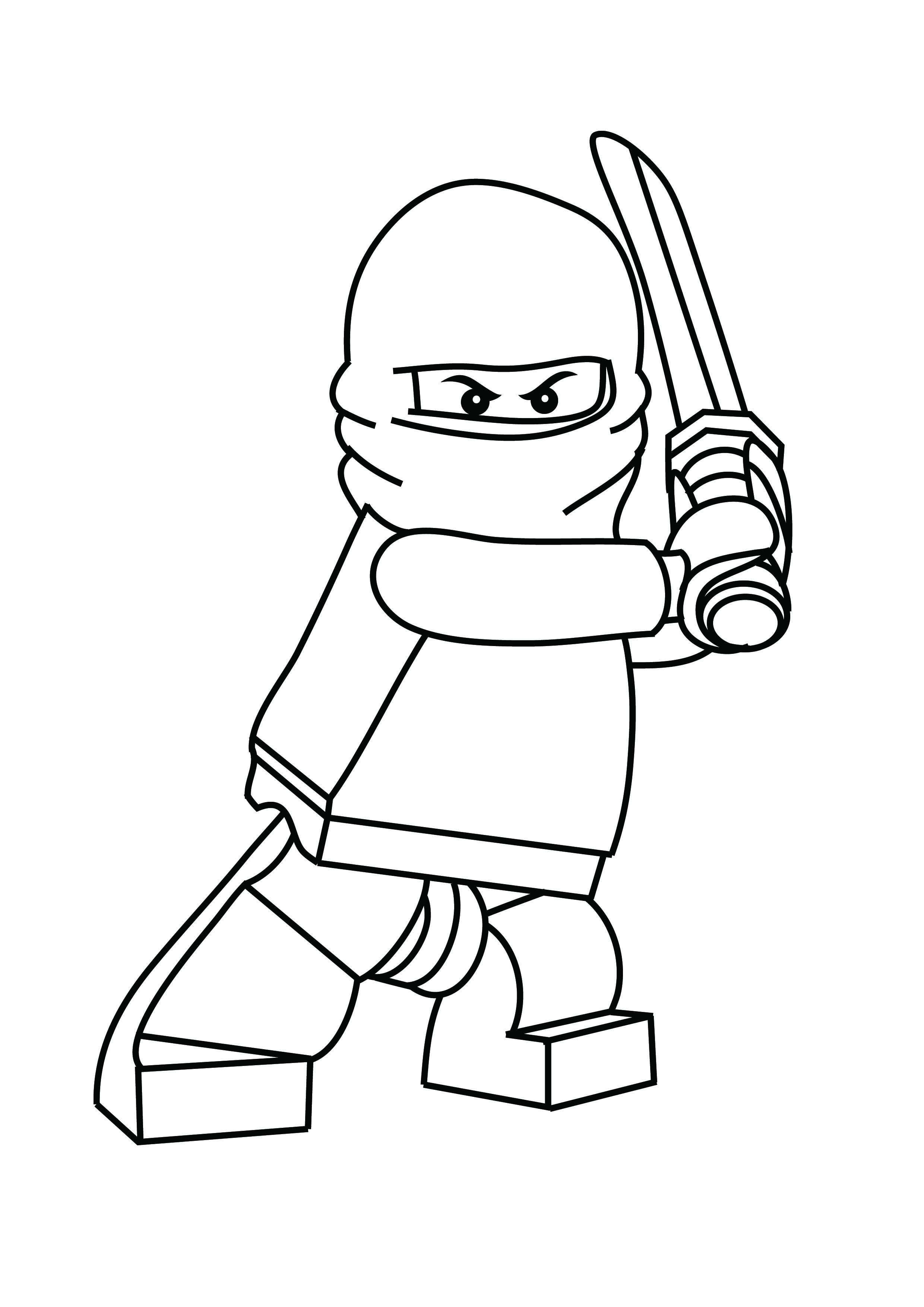 Free Printable Ninjago Coloring Pages For Kids Kleurplaten Lego