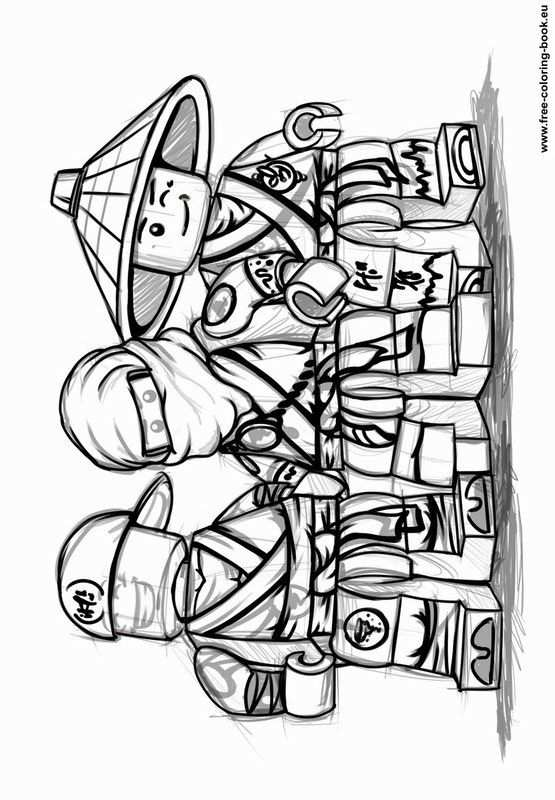 Coloring Pages Lego Ninjago Printable Coloring Pages Online