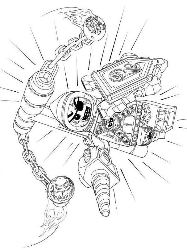 Kleurplaat Lego Nexo Knights Lego Nexo Knights 9 Mit Bildern