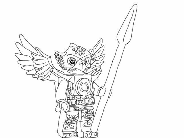 Lego Chima Coloring Pages Printable Lego Chima Colouring Pages