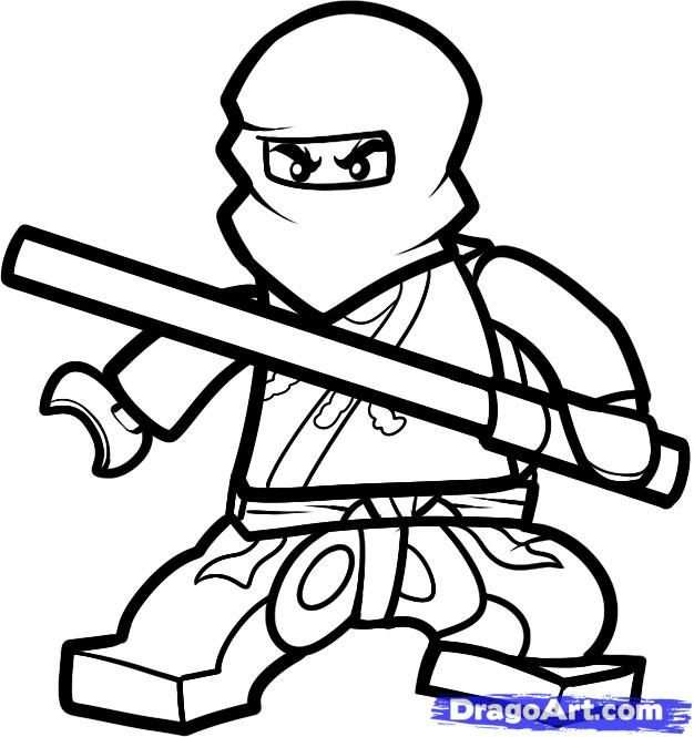 How To Draw Cole Ninjago By Dawn Ninjago Coloring Pages Lego