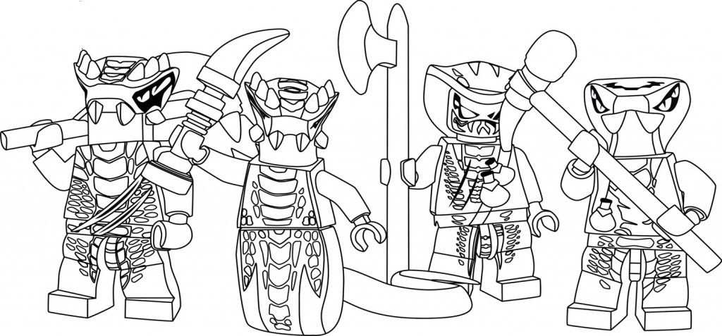 Free Printable Ninjago Coloring Pages For Kids Kleurplaten En