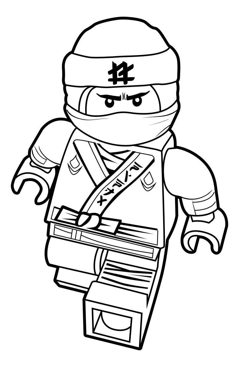 Lego Ninjago Coloring Pages To Improve Your Kid S Coloring Skill