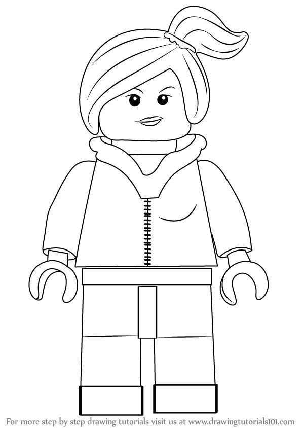 Como Dibujar Wyldstyle De La Pelicula Lego Drawingtutorials1