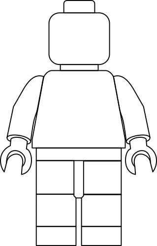 Lego Zelfportret Stap Voor Stap Met Gratis Sjabloon Lego