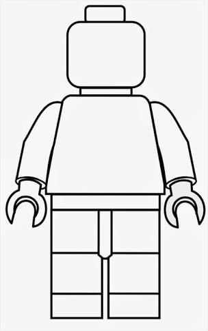 Afbeeldingsresultaat Voor Paper Lego Man Template Lego Poppetje