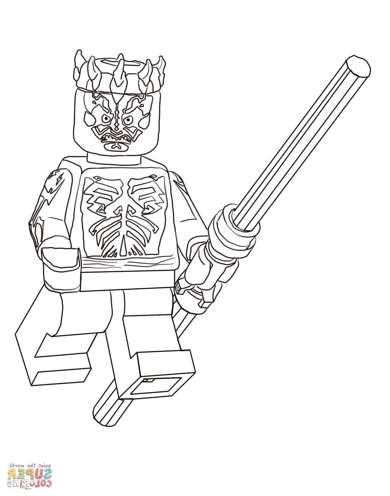 Lego Star Wars Coloring Nocl Lego Star Wars Coloring Pages Free