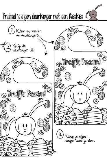 Lente Knutsels Deel 3 Kleurplaten Art Drawings For Kids Animal