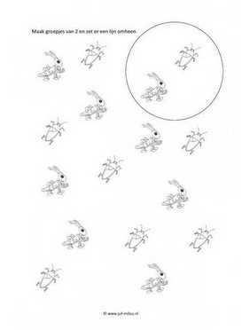 Werkblad Kriebelbeestjes Groepjes Van 2 Met Afbeeldingen
