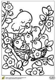 Afbeeldingsresultaat Voor Nest Rond Bouwen Kleuters Kleurplaten