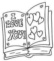 Afbeeldingsresultaat Voor Kleurplaten I Love You Mama Love