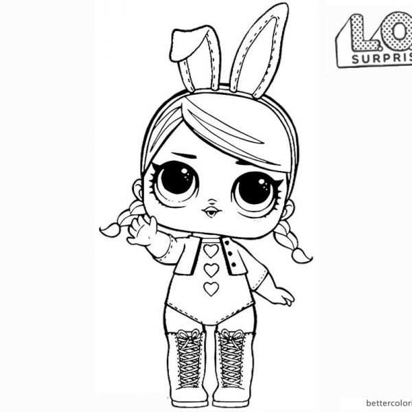Lol Surprise Doll Coloring Pages Hops In 2020 With Images
