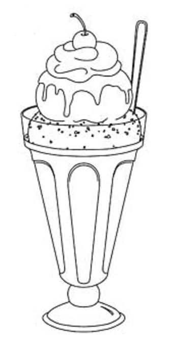 Sorbet Food Coloring Pages Coloring Pages Coloring For Kids