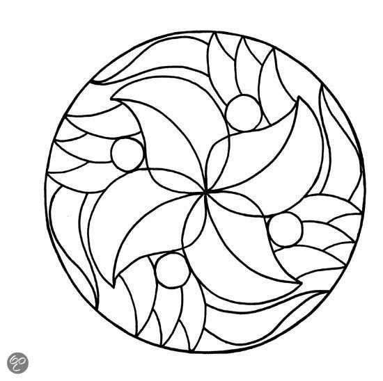 Mandala Kleurplaat Makkelijk Google Zoeken With Images What
