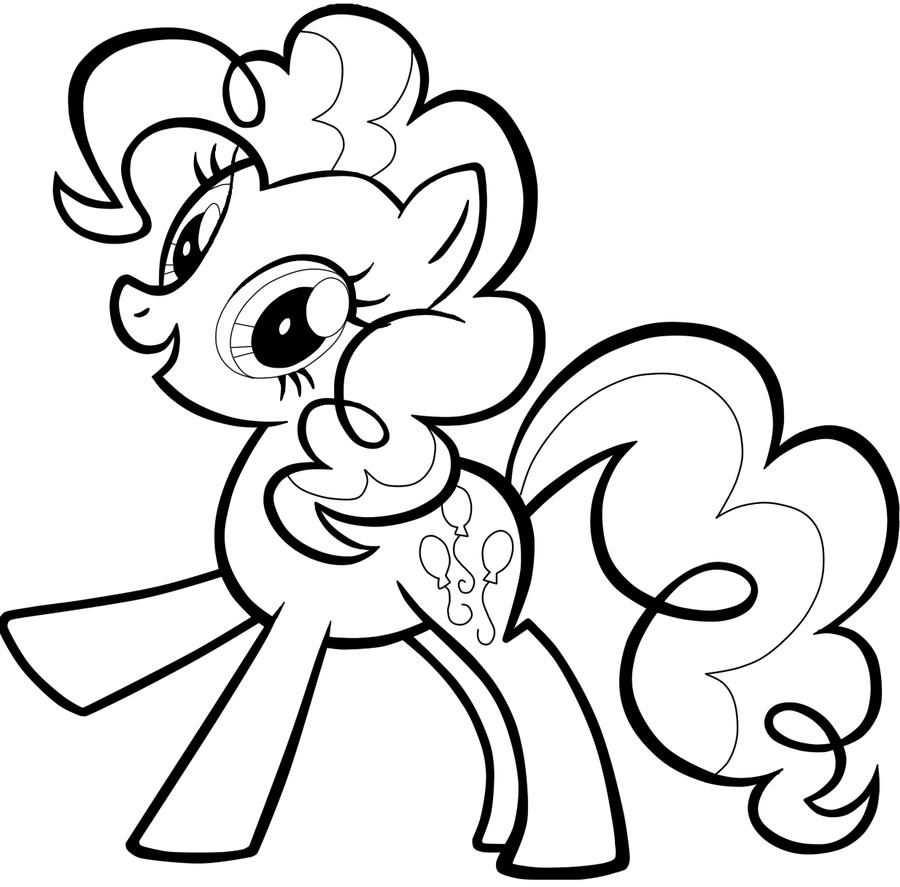Pinkie Pie Coloring Pages Dibujos Dibujos Para Colorear