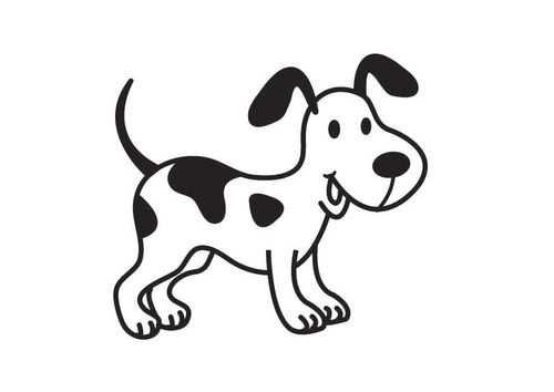 Kleurplaat Hond Huisdieren Tekenen Hond Tekeningen