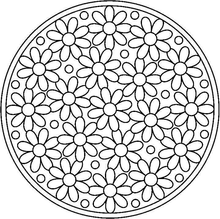 Kleurplaat Mandala Bloem Google Zoeken With Images Parchment