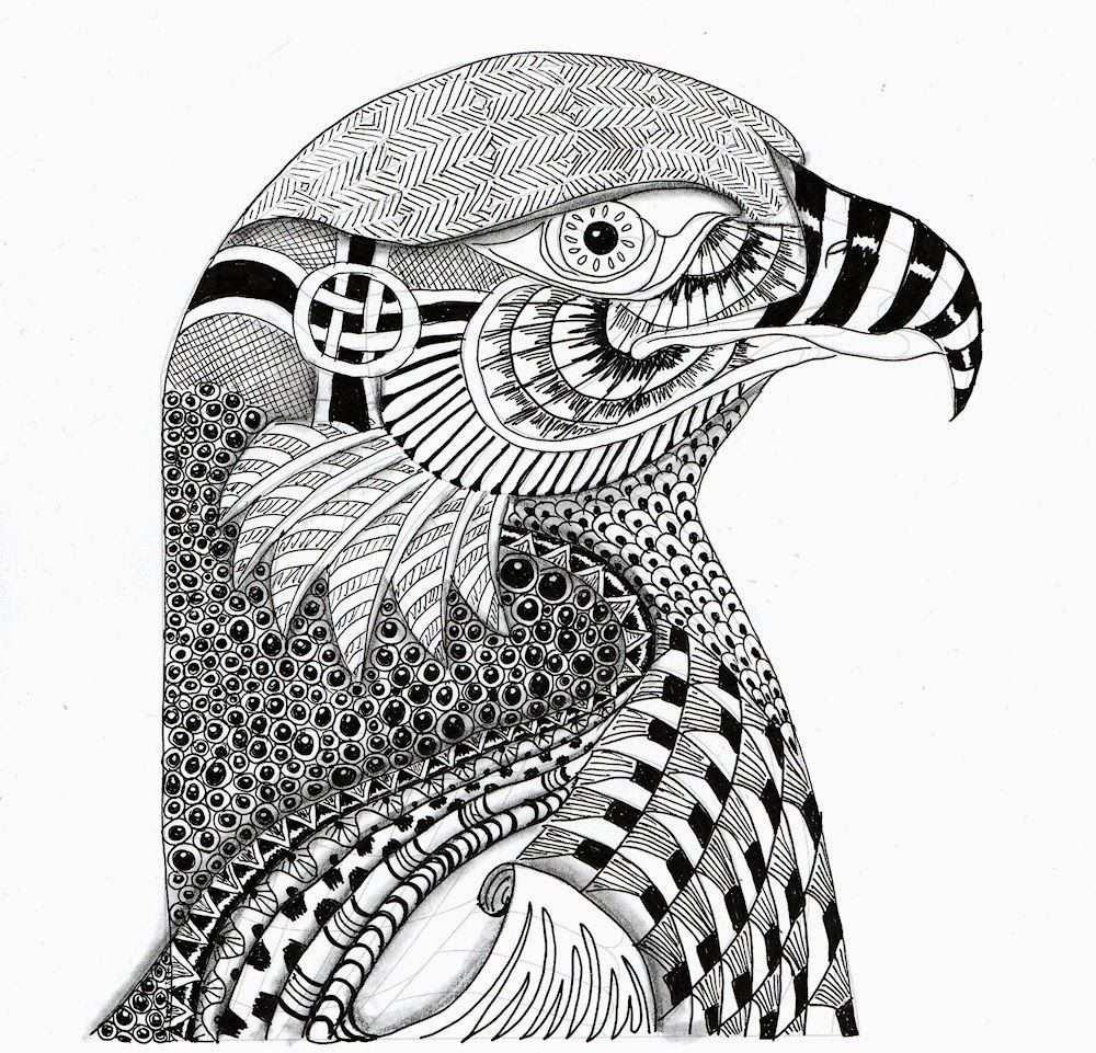 Kleurplaat Moeilijk Google Zoeken Tiere Zeichnen Zentangle