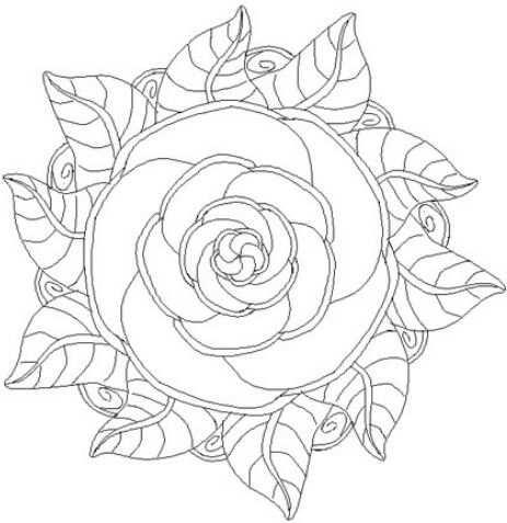 Mandala Kleurplaat With Images Mandala Coloring Pages Mandala