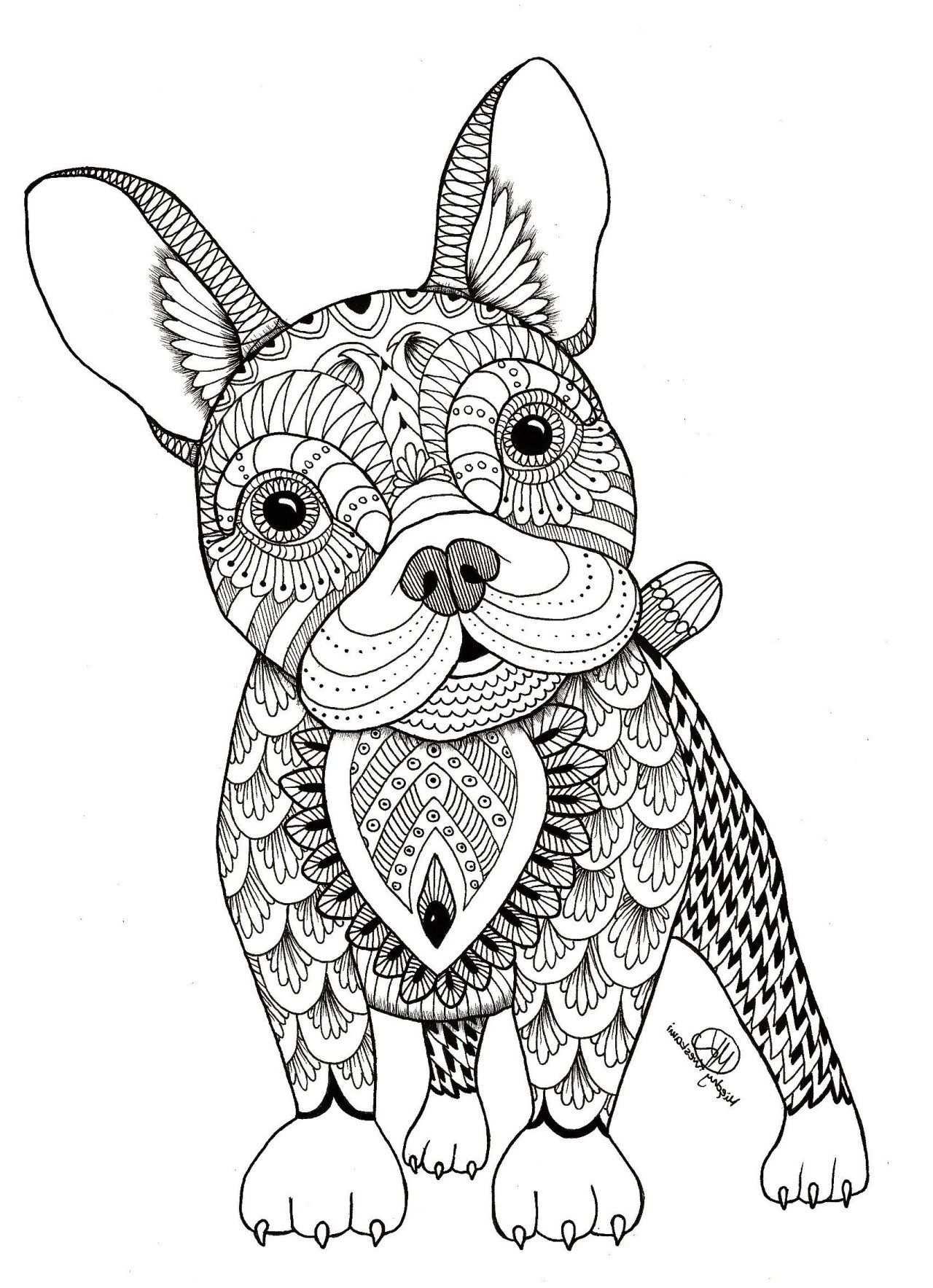 25 Inspiration Image Of Animal Mandala Coloring Pages Animal