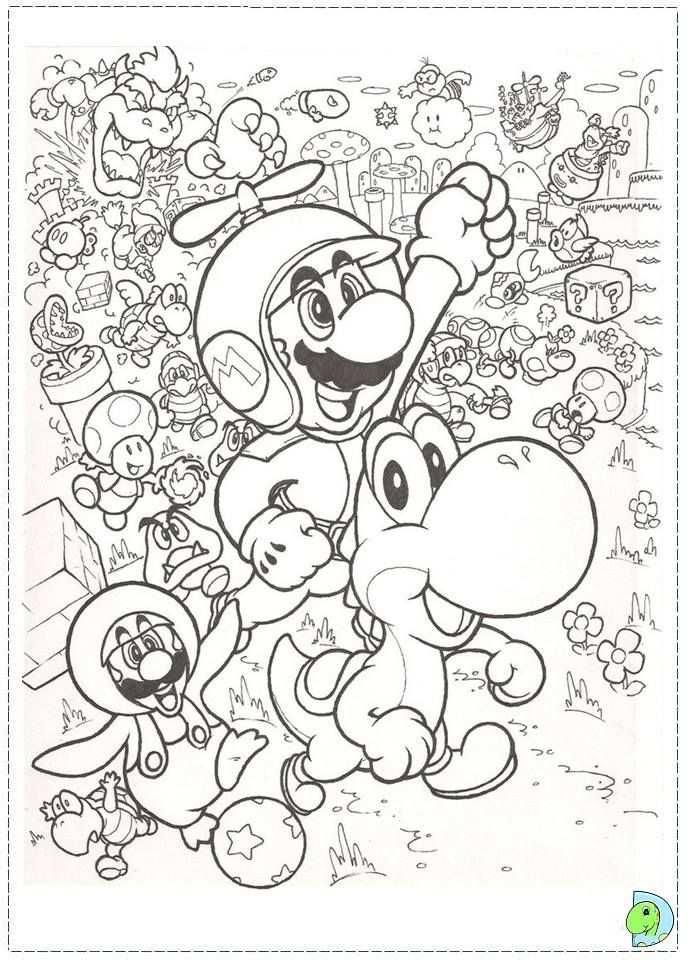 Templates Image By Robin Mario Coloring Pages Super Mario