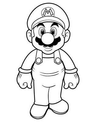 More Super Mario Coloring Pages With Images Super Mario