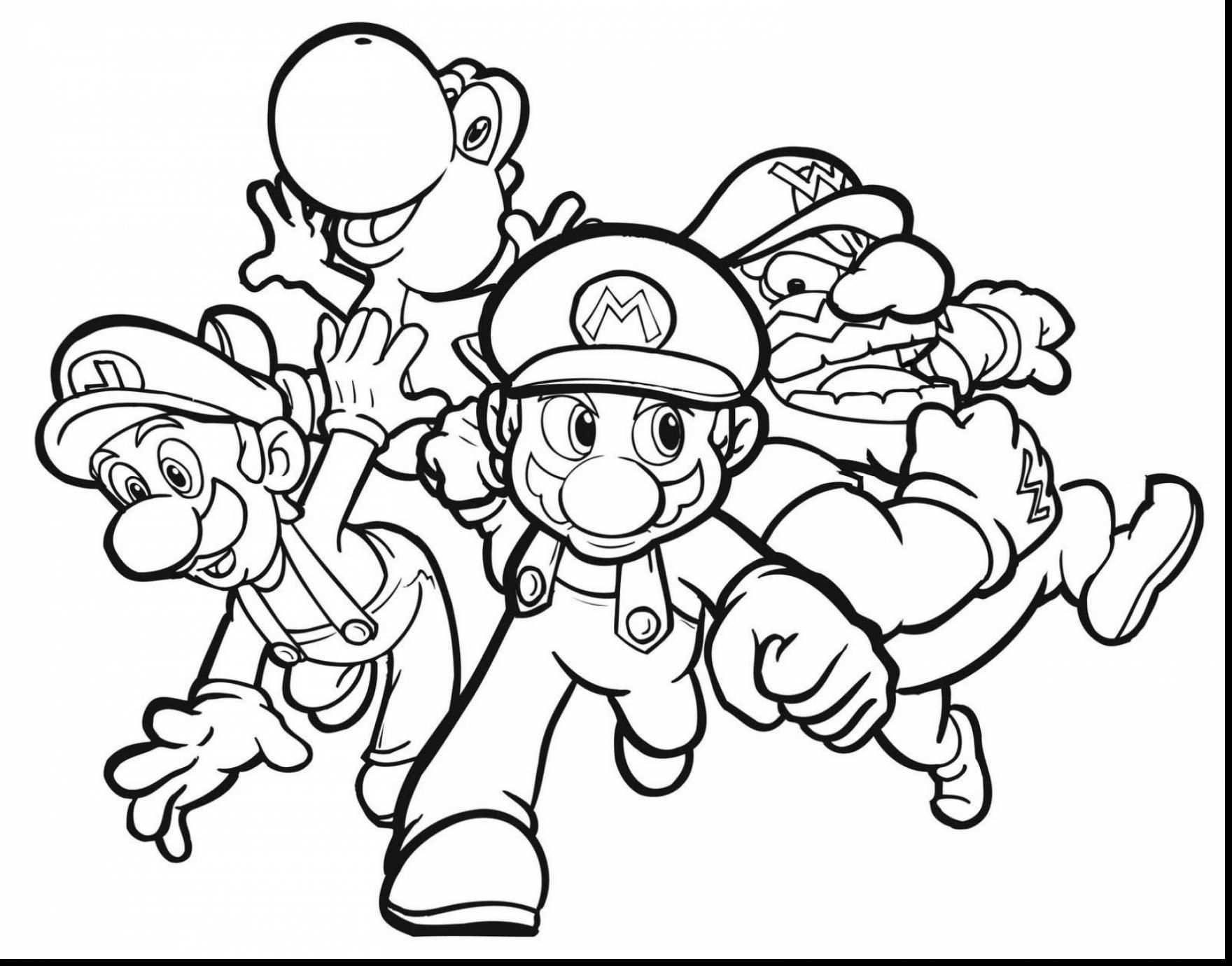 Kleurplaat Mario Odyssey / Free Printable Mario Coloring ...