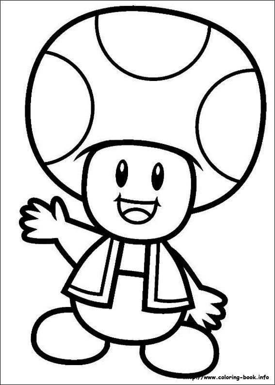 Kleurplaten Toad Http Www Mario Kleurplaten Nl Kleurplaten