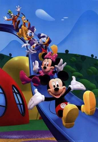 Mickey Mouse Clubhouse Space Adventure Spot The Difference
