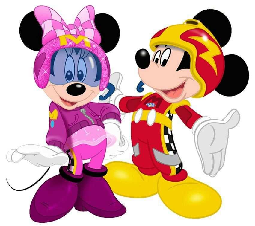 Roadster Racers Mickey Minnie Met Afbeeldingen Disney