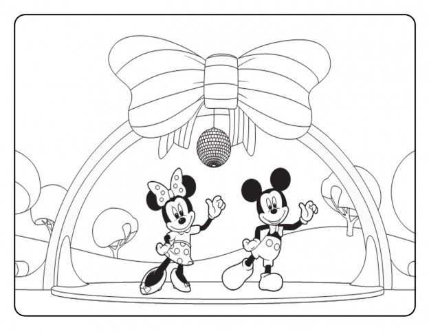 Free Printable Mickey Mouse Coloring Pages For Kids Cumple