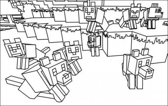 Minecraft 21 Minecraft Coloring Pages Coloring Pages To Print