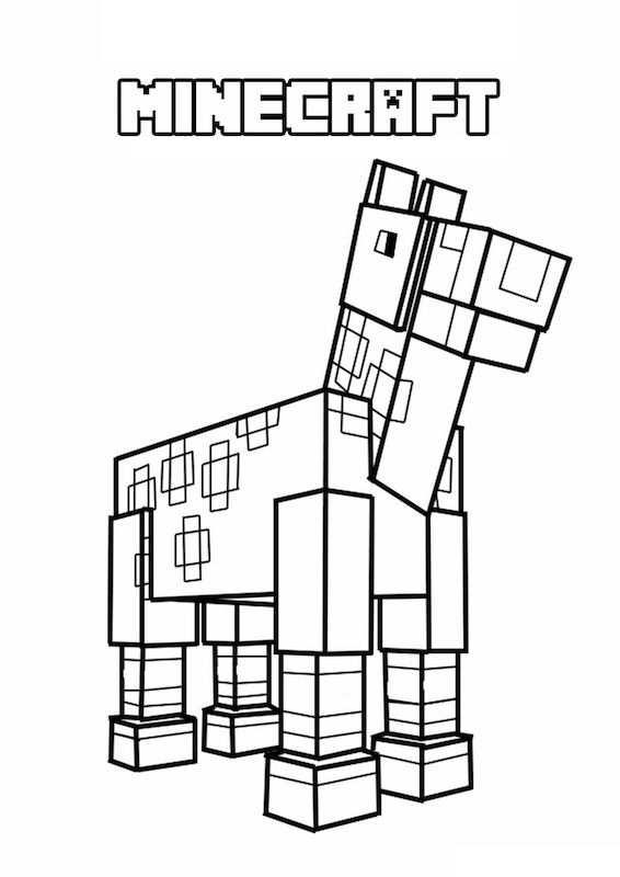 Minecraft Kleurplaat 1 Topkleurplaat Nl Kleurplaten Gratis