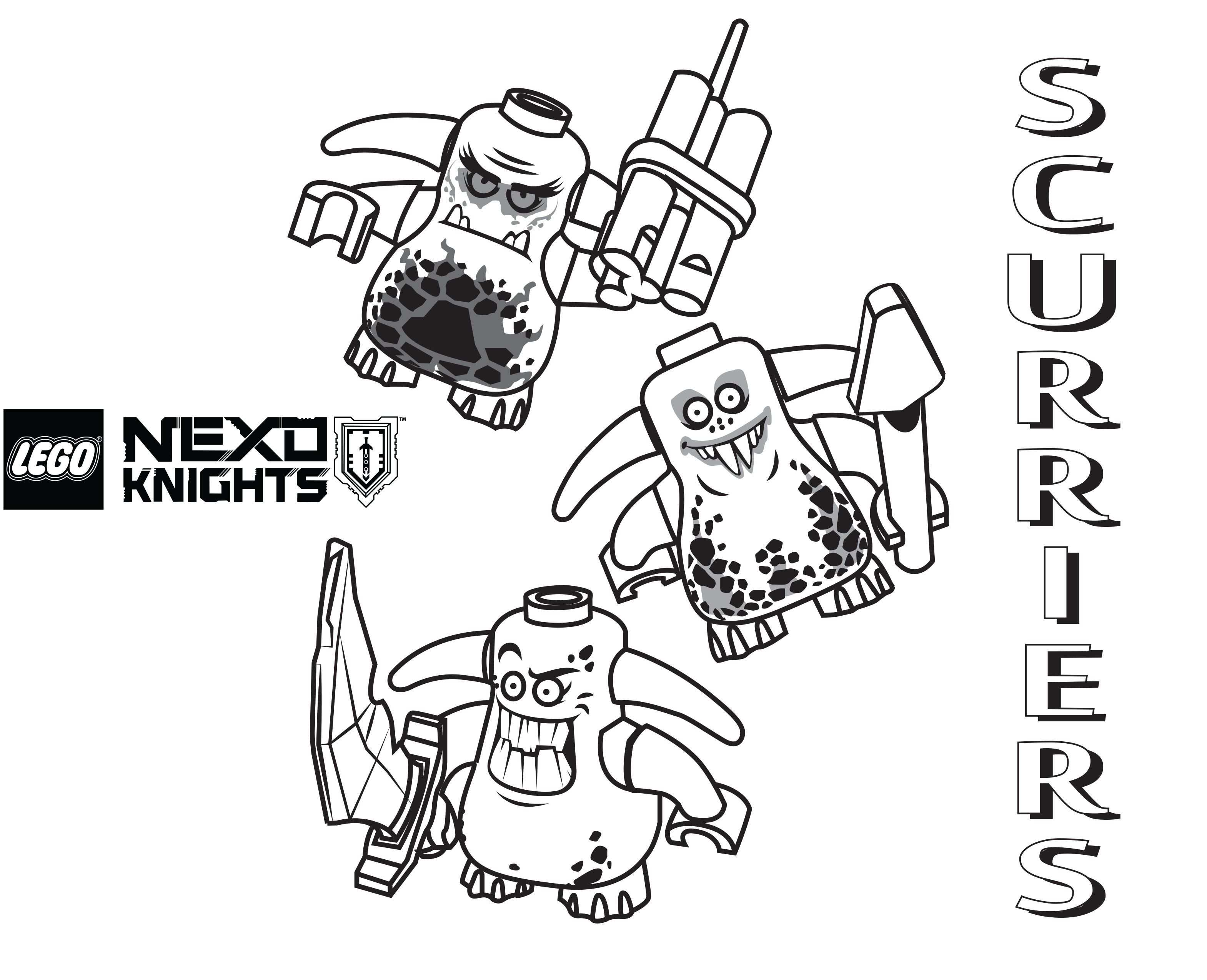 Nexo Lego Knights Coloring Pages Lego Coloring Pages Coloring