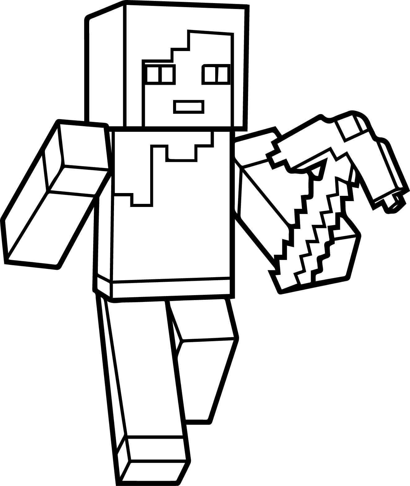 Fun Minecraft Coloring Pages Ideas For Kids I 2020 Med Billeder