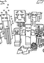 Here Are The Best Minecraft Mobs Coloring Pages Minecraft