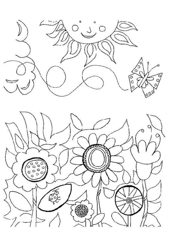 Bloemen Kleurplaten Bloem Kleurplaten En Bloemen Tekenen