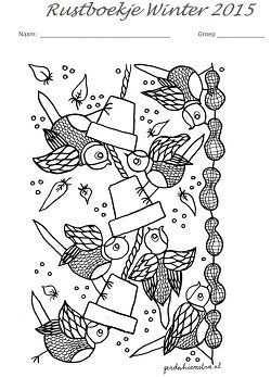 Afbeeldingsresultaat Voor Rustboekje Thema Vogels Winter