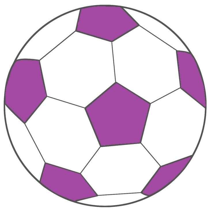 Voetbal Paars Voetbal Ballen Ballonnen